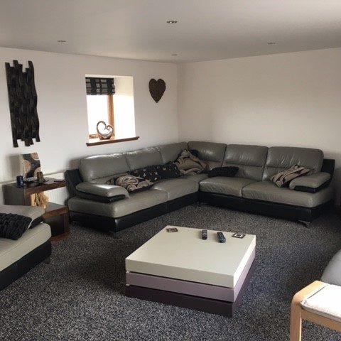 slains holiday home formal living room
