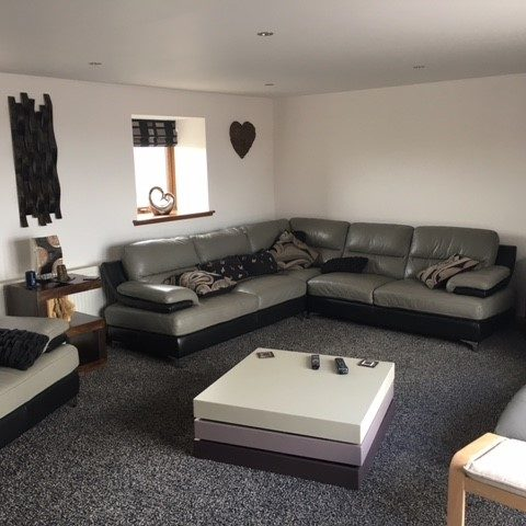 slains holiday home formal living room